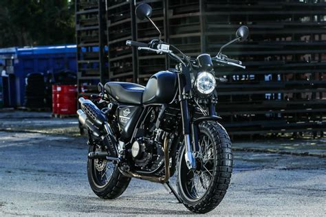 SWM Outlaw 125, Ace Of Spades 125 Launched In Japan