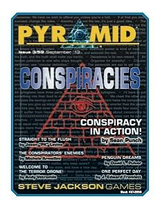 Warehouse 23 - Pyramid #3/59: Conspiracies