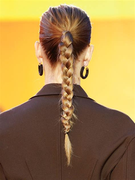 How To Create This Easy Braided Ponytail | Allure