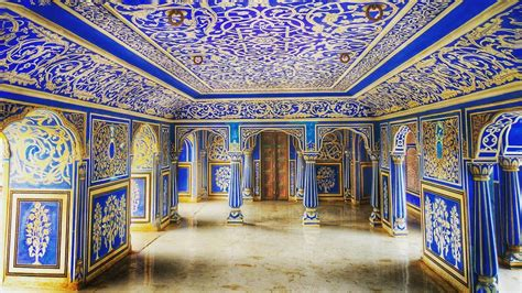 The blue room in the pink city of India