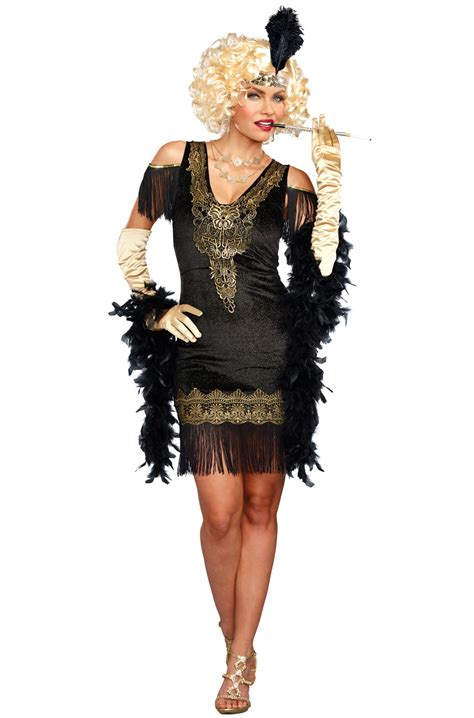 Swanky Flapper Adult Costume - PureCostumes