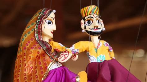 Indian or Rajasthani Traditional Puppets