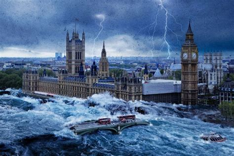 Perfect Storms: new images released as London is gripped