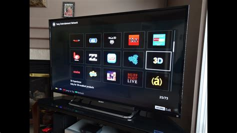 """Sony KDL50R550A 1080p 50"""" LED 3D TV In-depth Review - YouTube"""