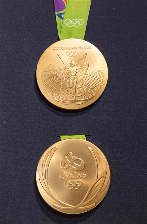 Innovative medal design unveiled for Rio 2016 - Olympic News