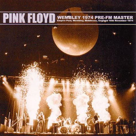 Pink Floyd - Wembley 1974 Pre-FM Master (CD, Unofficial