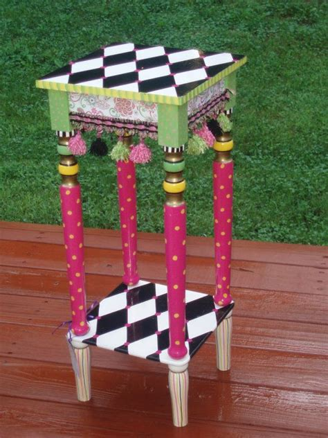 Whimsical Painted Furniture, Whimsical Painted Table