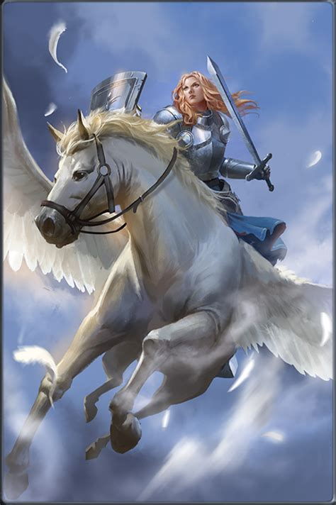 Pegasus Knight | Heroes of Camelot Wiki | FANDOM powered