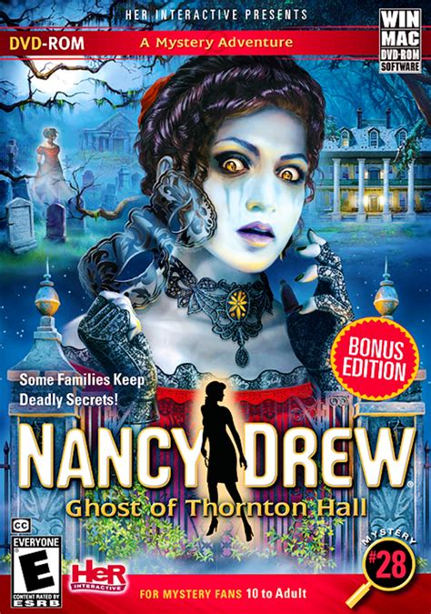 Nancy Drew: the Ghost of Thornton Hall Windows, Mac game
