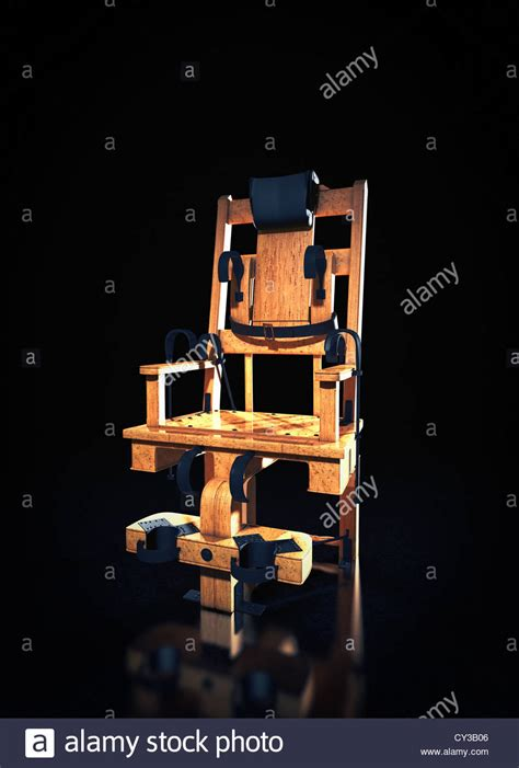 Execution electric chair Stock Photo - Alamy