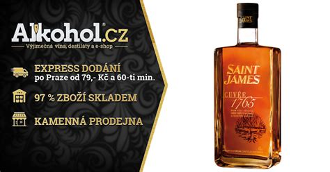 Saint James Cuvee 1765 6y 0,7l 42% | ALKOHOL