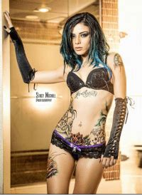 STACY MCHREL PHOTOGRAPHY Inked Girl the Tiny Rebelphoto by