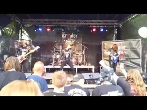 Kryptor - live @ Czech Death Fest 2015/06/11 - YouTube