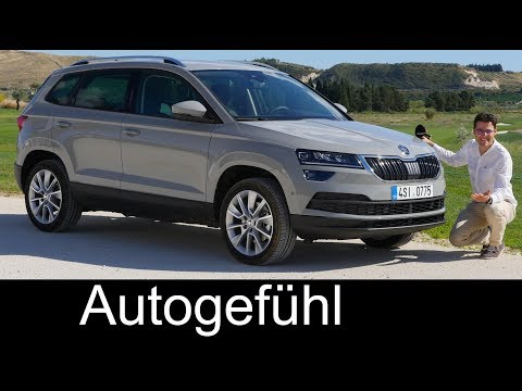 Skoda Kodiaq 2017 colours - YouTube