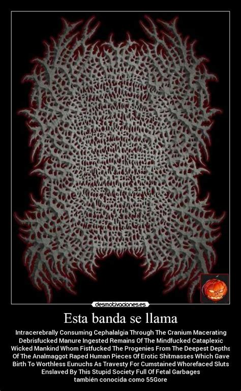 Who was the first band to have an unreadable band logo