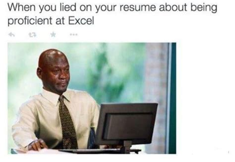 Lied on Resume about being proficient at Microsoft Excel